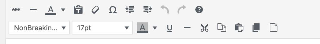 字体修改后效果
